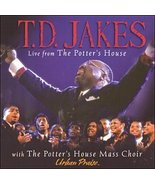 Live from The Potter's House [Audio CD] T.D. Jakes and the Potter's Hous... - $5.00