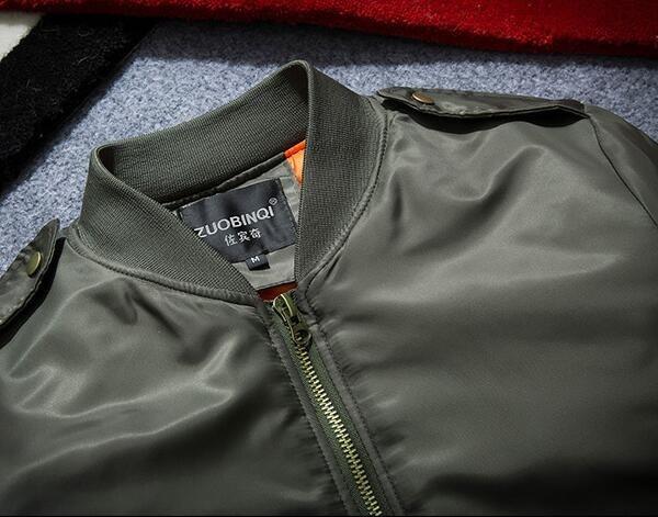 Men's baseball suit, air force pilot embroidered jacket, spring coat