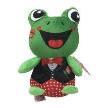 7 '' Valentines Pal Plush (Green Frog) - $3.99