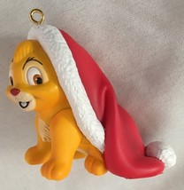 "Disney 2"" Oliver Cat in Santa Hat Figurine Orna... - $11.66"
