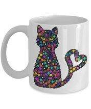 Circle Kiity Of Love.11 oz White Ceramic Coffee or Tea Mug - $15.99
