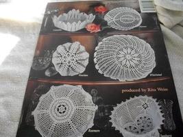 Crochet Cut Glass Bowls - $5.00