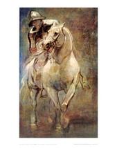 "22x28 ""Man on Horseback"" Van Dyke - $35.27"