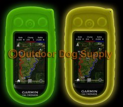 Garmin Alpha 100 Protective Cover Case - Glow in the Dark - 2 Colors to Choos...