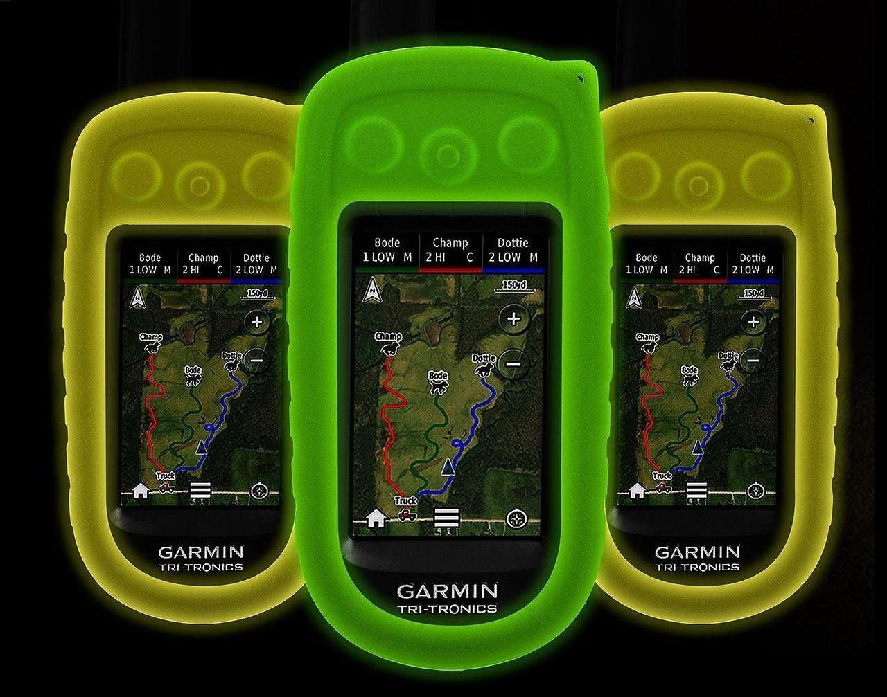 Glow in the Dark Protective Case Cover for the Garmin Alpha 100 Dog Tracking ...