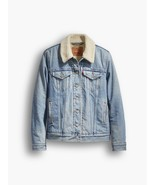 Levi's Women's Boyfriend Sherpa Trucker Jacket Color Riverbank - $58.00