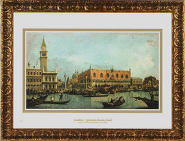 Giovanni Antonio Canaletto Print Canal of San M... - $50.95