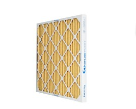 10x20x1 MERV 11 Efficient Pleated HVAC Air Filters (6 pack). Made in NC. - $46.99