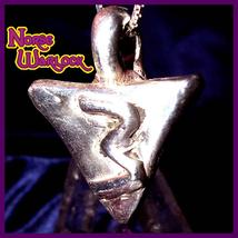 Rule of Three Metaphysical Silver Pendant Draws All Good Things X 3! hau... - $299.99