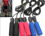 Aerobic Exercise Boxing Skipping Jump Rope Adjustable Bearing Speed Fitness New