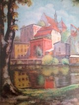 "Print on Paper Russian Landscape ""View Through ... - $44.09"