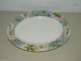 13 Inch Royal Doulton Everyday Wildflowers Oval Platter Plate 15397 - $70.62