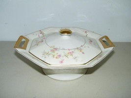Vintage Theodore Haviland Rosamonde Covered Casserole Vegetable Bowl Lid 13495 - $111.27