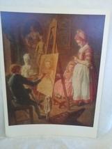 16x20 Artist Painting Print - $38.21
