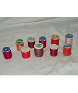 Sewing Thread 10 Spools Gutermann Quilting 18409 Coats Clark Signature - $12.91