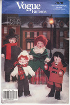 Vogue Caroller Dolls Clothing Christmas Decorat... - $12.86