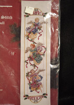 Angel Bell Pull Janlynn Cross Stitch Kit Christmas Holiday Sealed Package 1995 - $39.59