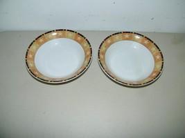2 Warren Kimble Rooster Bowl Bowls Cereal Soup 14869 - $249,62 MXN