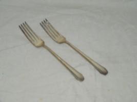 2 Reed & Barton STYLIST SILVERPLATE Dinner Fork 18488 Forks - $18.49