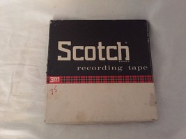 Scotch brand Empty Reel Recording Tape Clear to 19854 - $18.49
