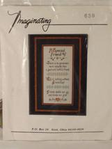 Imaginating A Special Friend Cross Stitch Kit Marilyn Clark Inc. - $19.79