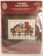 Animal Portrait Janlynn Counted Cross Stitch Kit Beagle Teddy Bear Cat Animals - $20.40