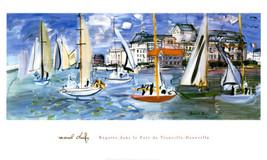 "17x33 Print  ""Regattas "" by Raoul Dufy - $42.13"