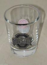 Ohio State Clear Shot Glass Shotglass 16091 Buckeyes image 1