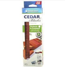 Four Count Large Size Cedar Blocks HOUSEHOLD ESSENTIALS - $3.95