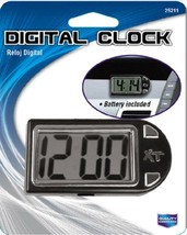 Custom Accessories 25211 Onyx Digital Clock Displays Hour Minutes Second... - $9.89