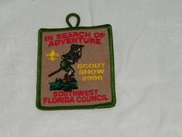 Boy Scouts Patch Scout Southwest Florida Council Show 2000 18193 - $9.49