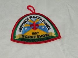 1997 Boy Scouts Patch Scout Southwest Florida Council Show  18191 - $9.49