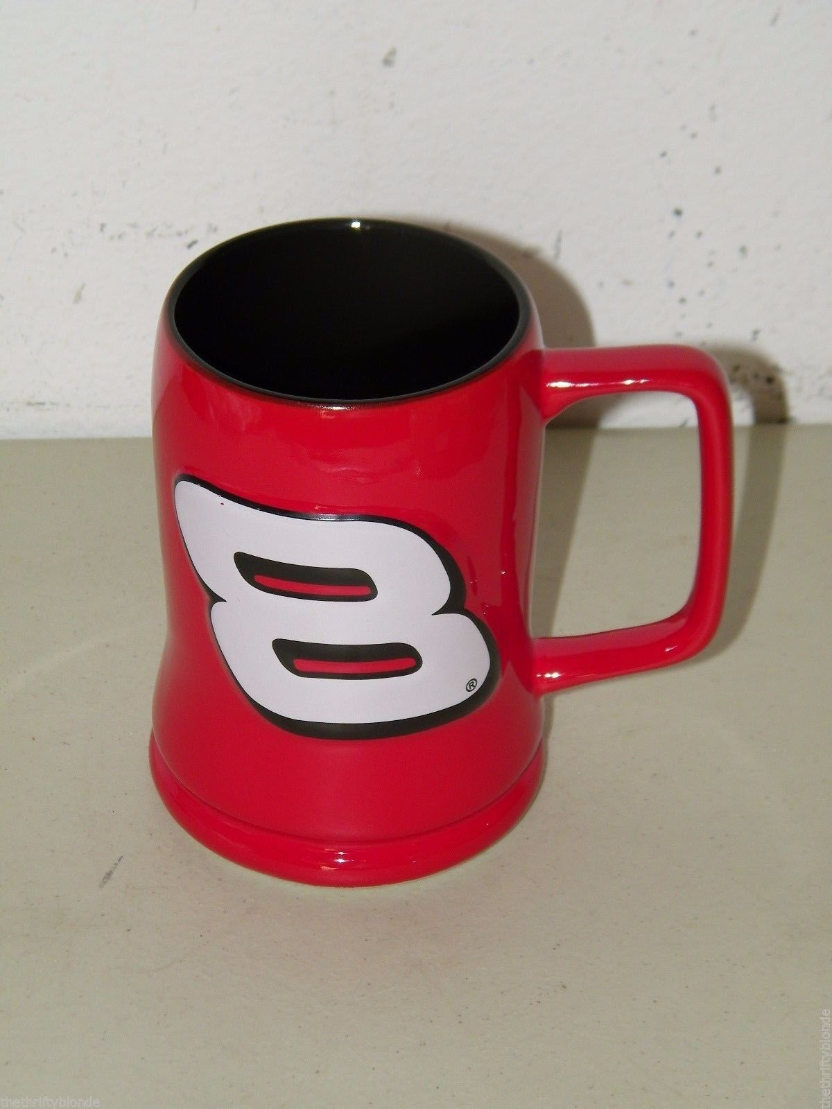 Dale Earnhardt Jr Coffee Mug #8 Nascar Red 16868