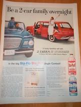 Vintage Stay Puff Rinse Jingle Contest Magazine Advertisement June 1960  - $12.99