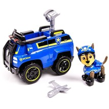 Paw Patrols Chase's Spy Cruiser Vehicle and Figure works w Paw Patroller... - $43.06