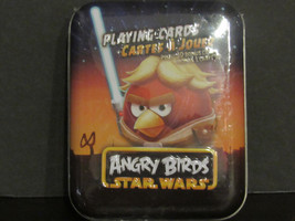 Star Wars Angry Birds Playing Cards in a Tin Plus 3D Bonus Card - $3.49