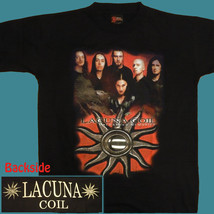 T-SHIRT LACUNA COIL Unleashed Memories GOTHIC METAL SIZE S - $13.10