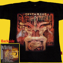 T-SHIRT TESTAMENT The Gathering THRASH METAL CD SIZE S - $16.70