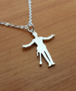 Pendant - Iconic Silhoutte - Remembrance - 925 Silver - Handmade - $52.00