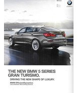 2014 BMW 5-SERIES GT brochure catalog 14 US 535i 550i Gran Turismo xDrive - $9.00