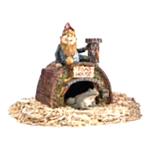 Garden Gnome's Toad House Statue - $42.39