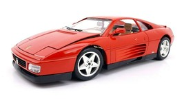 Bburago 1:18 Ferrari 348tb 1989 - Red (3039) Die Cast Metal Model Car - $30.59
