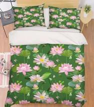 3D Flowers 220 Bed Pillowcases Quilt Duvet Cover Set Single Queen King Size AU - $64.32+