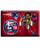 NEW ENGLAND PATRIOTS FOOTBALL TEAM TRIPLE LIGHT... - $17.98