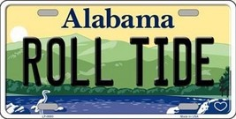 "NCAA Roll Tide Vanity License Plate Tag 6""x 12"" Sports Alabama  Metal Auto New - $12.86"