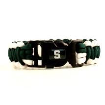 Michigan State Spartans Survival Bracelet NCAA Paracord Survivor Strap F... - $9.85