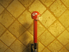 Kansas City Chiefs  KEGERATOR BEER TAP HANDLE  Football Helmet Bar Sport  - $26.68