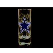 NFL  Cowboys 2.5 Oz Cordial Shot Glass Team Logo Barware Color Dallas Logo - $9.75