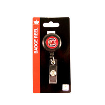 NCAA South Carolina Gamecocks Retractable Badge Reel Id Ticket Clip Hold... - $6.88