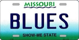 """NHL Blues Vanity License Plate Tag  6""""x 12"""" Metal Auto St Louis Stanley New Cup  - $12.86"""
